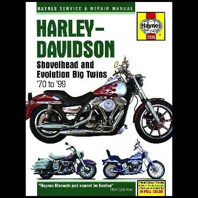 Harley-Davidson Shovelheads/Big Twins 1970-99