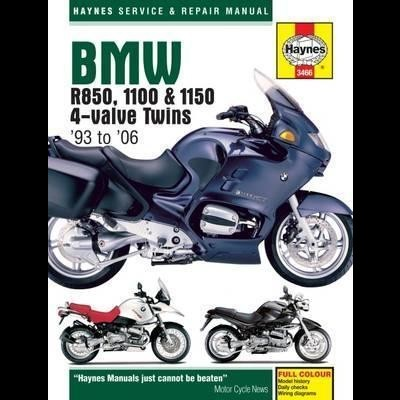 BMW R850, 1100 & 1150 4-valve Twins 1993-06