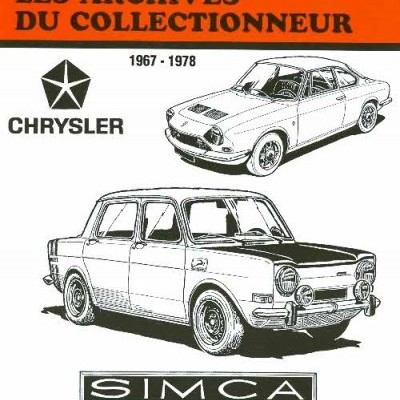 Simca 1000 Rallye 1, 2, 3, 1200S 1967-78 (AC37)