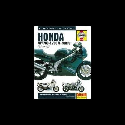 Honda VFR 750 & 700 V Fours 1986-97