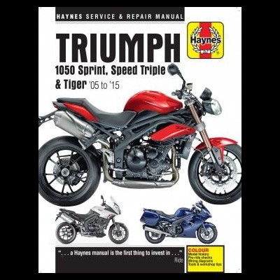 Triumph 1050 Sprint ST, Speed Triple & Tiger 05-15