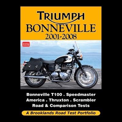 Triumph Bonneville 2001-08 Road Test Portfolio