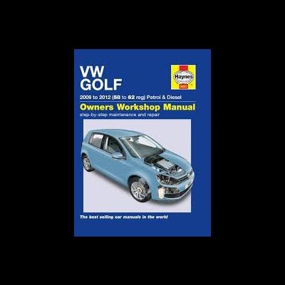 Volkswagen Golf VI petrol & diesel 2009-12