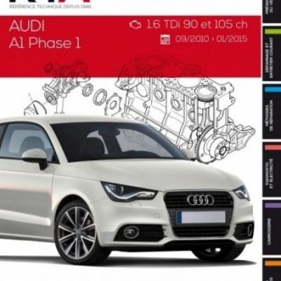 Audi A1 1.6TDI 90 ET 105CH 09/10-01/15 (RTAB798)