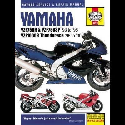 Yamaha YZF750R & YZF1000R Thunderace 93-00