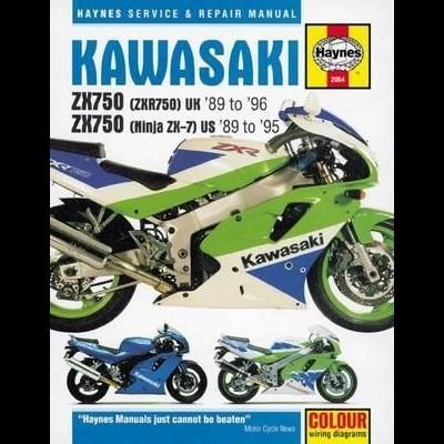 Kawasaki ZX750 (Ninja ZX-7 & ZXR750) Fours 1989-96