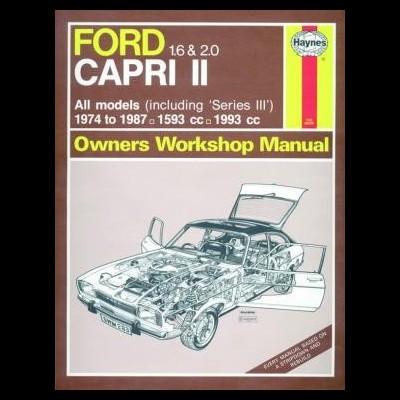 Ford Capri II & III 1.6 & 2.0 1974-87