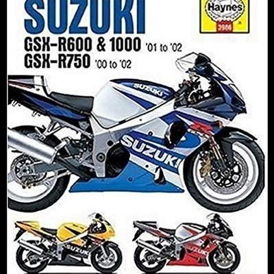 Suzuki GSX-R600, 750 & 1000 2001-2002