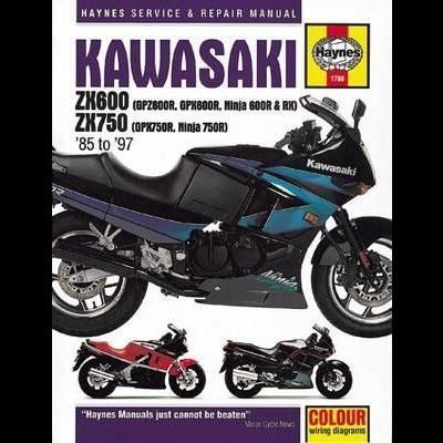 Kawasaki ZX600 GPZ600R,GPX600R,Ninja 600R,RX,ZX750