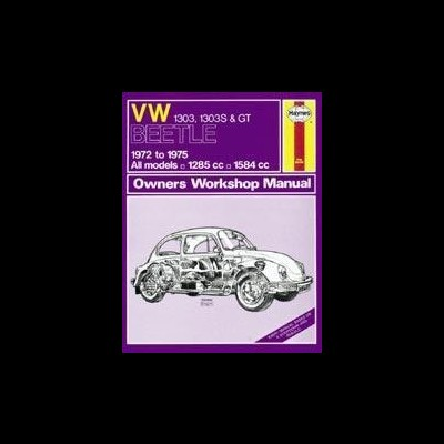 Volkswagen Beetle 1303, 1303S & GT 1972-75