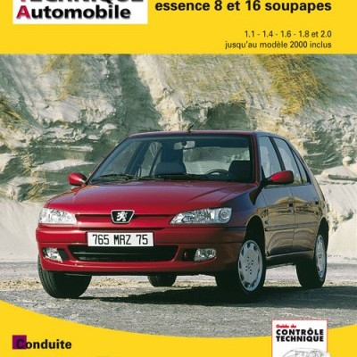 Peugeot 306 Essence jusqu'a  2000 RTA565