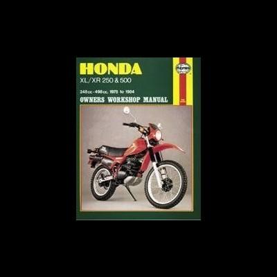 Honda XL/XR 250 & 500 1978-84