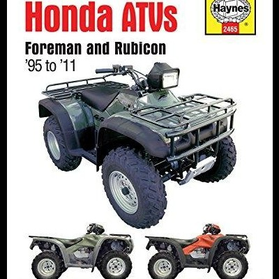Honda Foreman and Rubicon ATVs 1995-2011