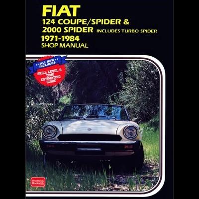 Fiat 124 Coupe/Spyder & 2000 Spyder 1971-84