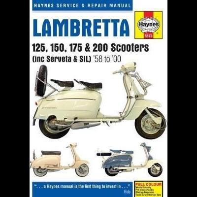 Lambretta 125, 150, 175 & 200 Scooters 1958-2000