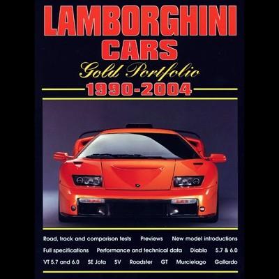 Lamborghini Cars Gold Portfolio 1990-2004