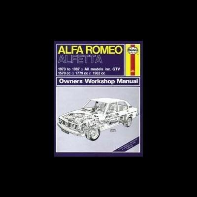 Alfa Romeo Alfetta 1973-87