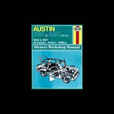 Austin A35 &  A40 1956-67