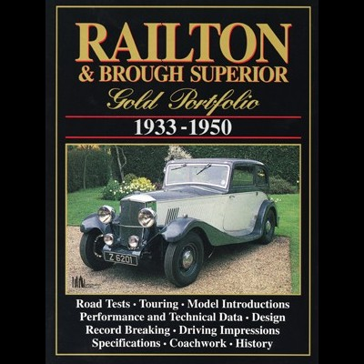 Railton & Brough Superior Gold Portfolio 1933-50