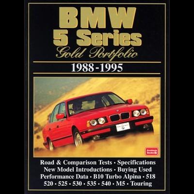 Bmw 5 Series Gold Portfolio 1988-95