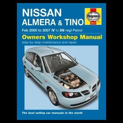 Nissan Almera & Tino Petrol 2000-07