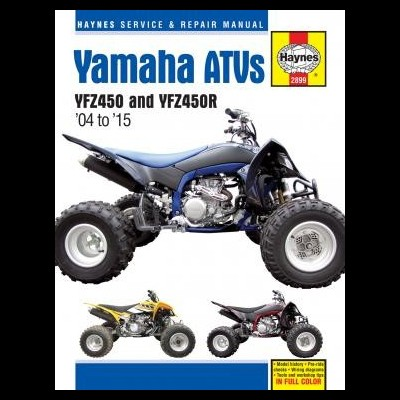 Yamaha YFZ450 & YFZ450R ATVs 04-17