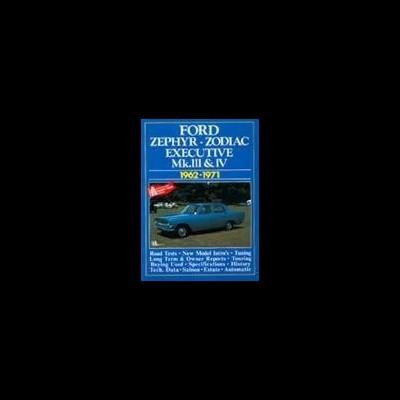 Ford Zephyr, Zodiac, Executive MK 3 & 4 1962-71