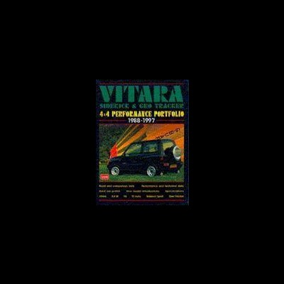 Suzuki Vitara, Side - Kick, G Tracker 4X4 1988-9