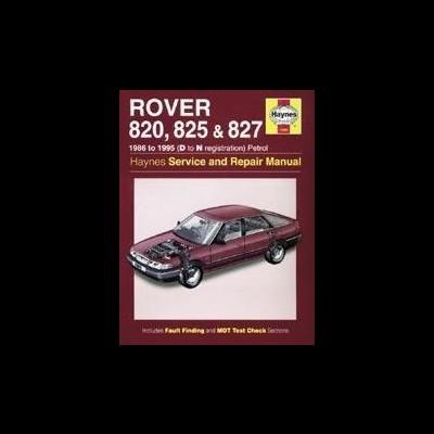 Rover 820, 825 & 827 Petrol 1986-95