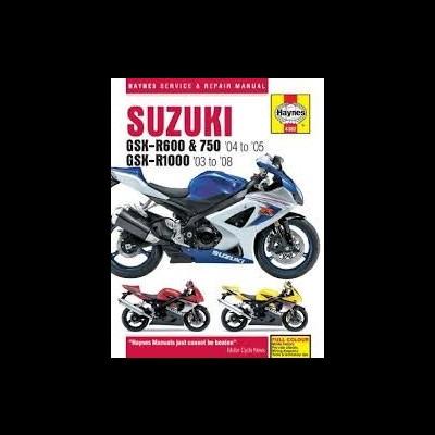 Suzuki GSX-R600/750 2004-05 & GSX-R 1000 2003-06