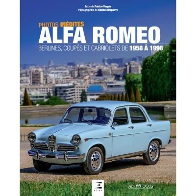 Alfa Romeo berlines, coupés et cabriolets de 1958