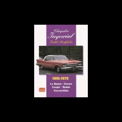 Chrysler Imperial Gold Portfolio 1951-75