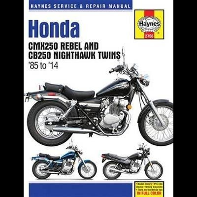 Honda CMX250 Rebel & CB250 Nighthawk Twins 1985-09