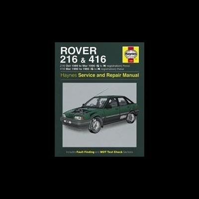 Rover 216 & 416 Petrol 1989-96