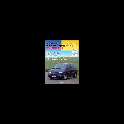 Citroen Evasion Ess/D, Peugeot 806 1995-98 RTA576