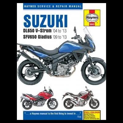 Suzuki DL650 V-Strom & SFV650 Gladius 2004-13