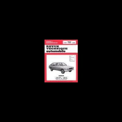 Simca 1307, 1308, 1309 1976-79 (RTA355)