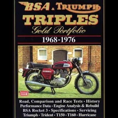 Bsa & Triumph Triples Gold Portfolio 1968-76