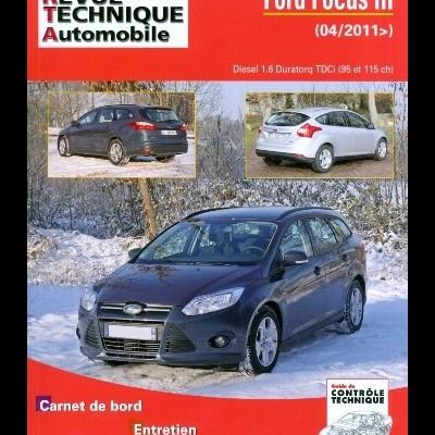 Ford Focus III 1.6 TDCI 95/11 CH BVM6 (RTAB771)