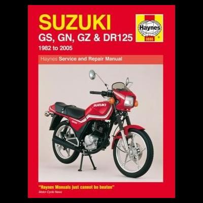 Suzuki GS, GN, GZ & DR 125 Singles 1982-05