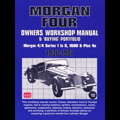 Morgan 4 OWM & Buying Portfolio 1936-1981