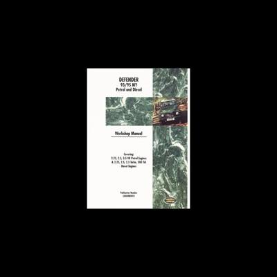 Land Rover Defender 1993-95 Workshop Manual