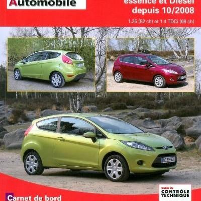 Ford Fiesta VI depuis 2008 1.2+1.4 TDCI (RTAB742)