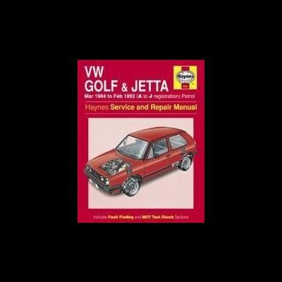 Volkswagen Golf & Jetta MK 2 1984-92