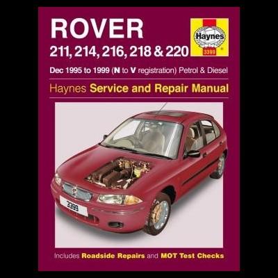 Rover 211, 214,216, 218, 220 Petrol/Diesel 1995-99