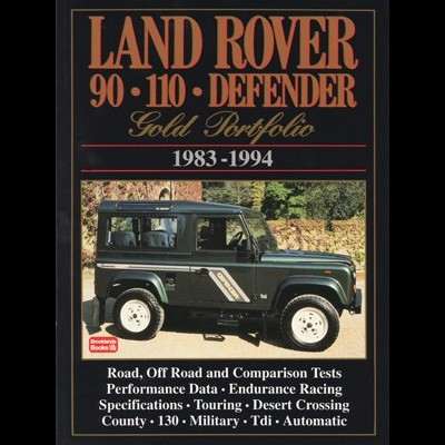Land Rover 90 &110 Defender Gold Portfolio 1983-94