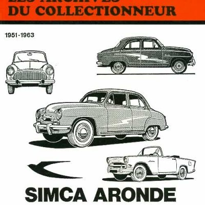 Simca Aronde (6 et 7cv) 1951-63 (AC23)