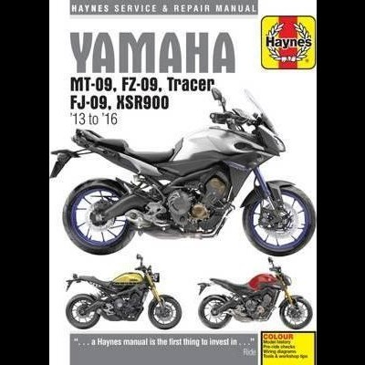 Yamaha MT-09, FZ-09, Tracer FJ-09 & XSR900 13-16