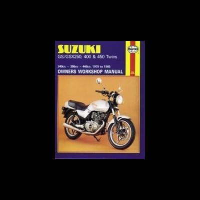 Suzuki GS/GSX250, 400 & 450 Twins 1979-85