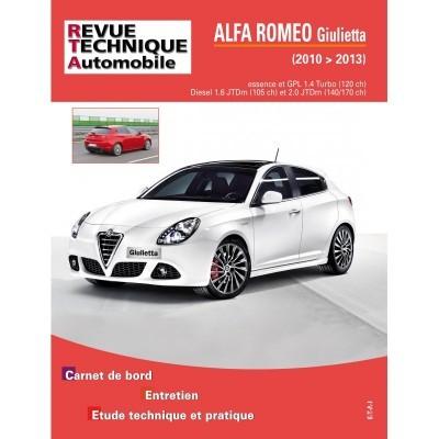 Alfa Romeo Giulietta 2010-2013 (RTA TAP424)